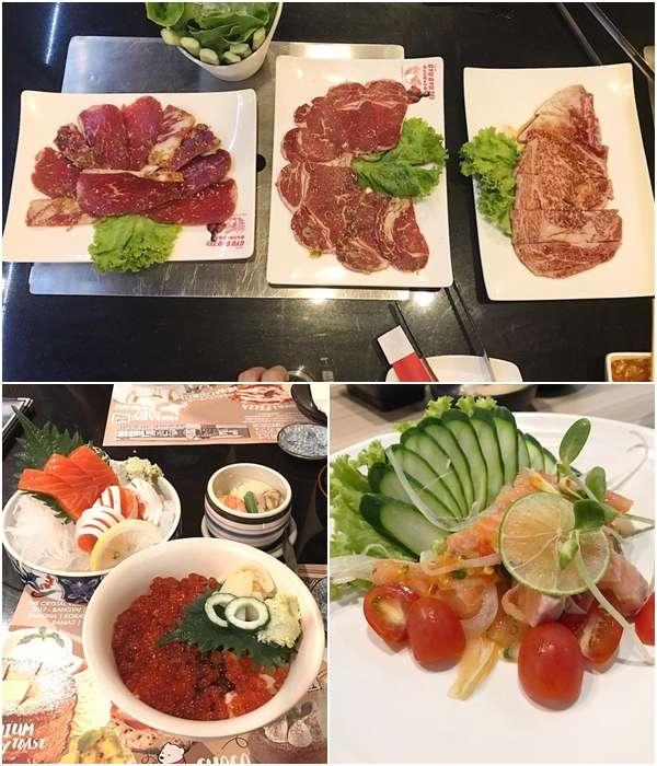 เรื่องกินส่วนใหญ่อั้มจะเน้นไปทางอาหารญี่ปุ่นมากกว่าเนื้อย่าง กุ้งย่างแล้วค่ะ